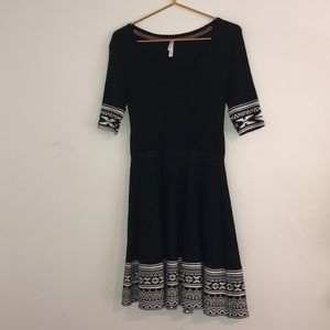 Xhileration black dress